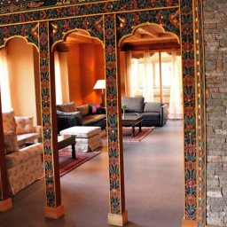 Bhutan-Paro-Hotel-Naksel Resort-salon