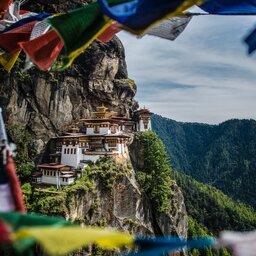 Bhutan - Paro valley - tijgers nest