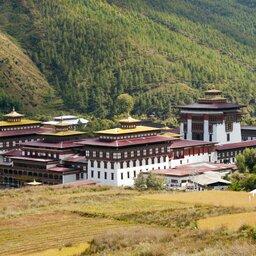 Bhutan-Thimpu-hoogtepunt-Tashichho Dzong