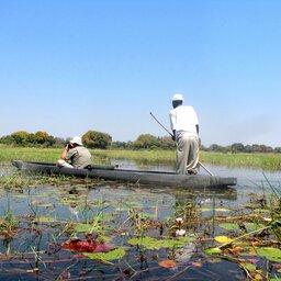 Botswana-Roeiboot