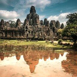 Cambodja-Siem Reap-hoogtepunt-Angkor Thom