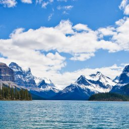 Canada - Jasper lake - Rocky mountains
