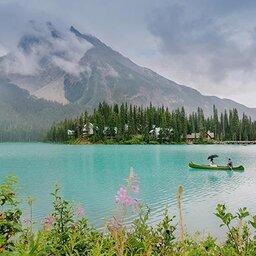 Canada - Lake Louise - Banff National Park - Emerald Lake Lodge (27)