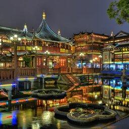 China-Shanghai-hoogtepunt-stad1