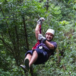 Costa rica - Canopy tour - deathride - Arenal - monteverde (8)