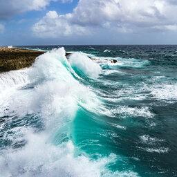 Curaçao-Shete Boka National Park-golven