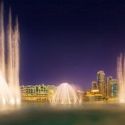 Dubai-Dubai fontein 2