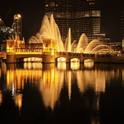 Dubai-Dubai fontein