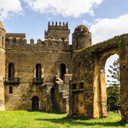 Ethiopië-Gondar-kasteel