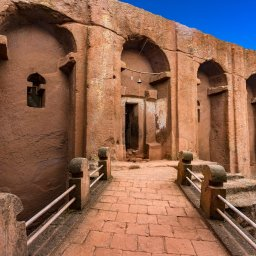 Ethiopië-Lalibela-kerk