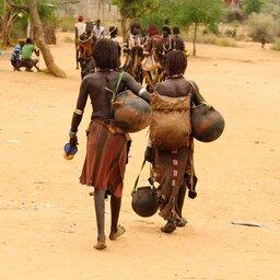 Ethiopië-Omo vallei-Turmi