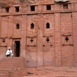 Ethiopië-Simien gebergte-Lalibela rotskerken