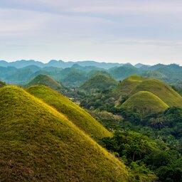 Filipijnen - Chocolate hills - Bohol province