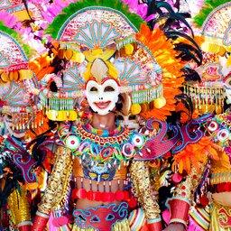 Filipijnen - Masskara Festival - Bacolod City - Philippines