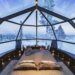 Finland-Lapland-Levi-levin-iglut-golden-crown-igloo-kamer