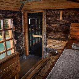 Finland-Lapland-Saariselka-Javri-Lodge-sauna