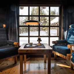 Finland-Lapland-Yllas-L7-Luxury-Lodge-sfeerfoto-zithoek