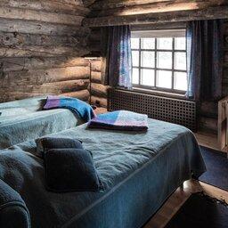 Finland-Lapland-Yllas-L7-Luxury-Lodge-slaapkamer-twin