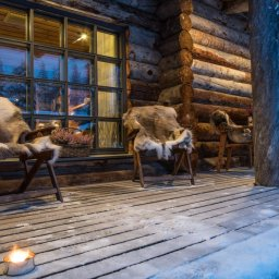 Finland-Lapland-Yllas-L7-Luxury-Lodge-terras