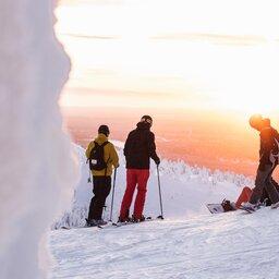 Finland-Zweden-Lapland-cross-country-ski-snowboarding