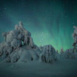 Finland-Zweden-Lapland-Levi-noorderlicht