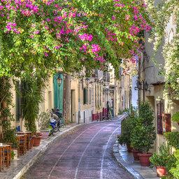 Griekenland-Athene-plaka