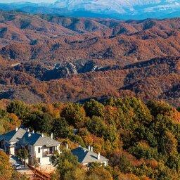Griekenland-Epirus-Kores-Boutique-Hotel-luchtfoto-omgeving