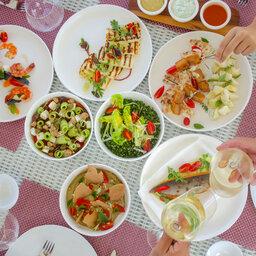 Griekenland-Halkidiki-Avaton-sfeerbeeld-eten