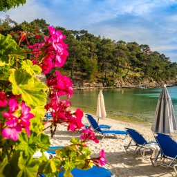 Griekenland-Halkidiki-Excursie-Island-Hopping-strand-van-Alykes 1