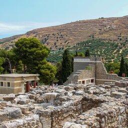 Griekenland-Kreta-algemene-foto-Knossos-ruines