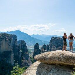 Griekenland-Meteora-streek-koppel