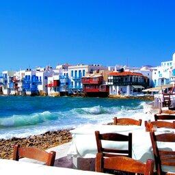 Griekenland - Mykonos - eten