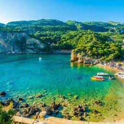 Griekenland - Paleokastritsa, Corfu