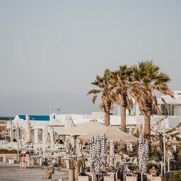 Griekenland-Paros-streek-terrassen