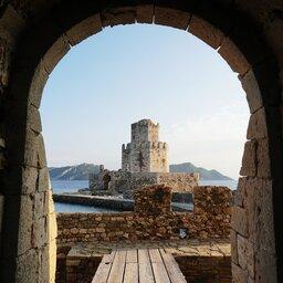 Griekenland-Peloponnesos-streek-Nafplio-Bourtzi