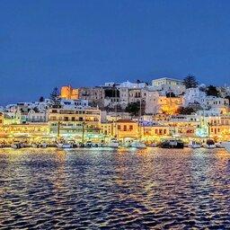 Griekenland-streek-Naxos-avond-sfeerbeeld