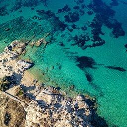 Griekenland-streek-Naxos-luchtfoto