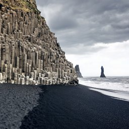 Ijsland - Reynisfjara -mount Reynisfjall - Dyrholaey
