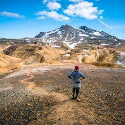 IJsland-streek-Hooglanden-Hveradalir-Kerlingarfjoll-Mountains-enkel-redactioneel-gebruik (2)