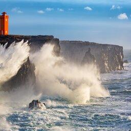 Ijsland - Westkust - storm