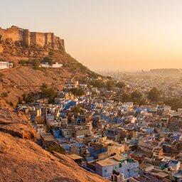 India-Jodhpur-Blauwe Stad 2