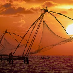 India-Kerala-hoogtepunt-vissersboot