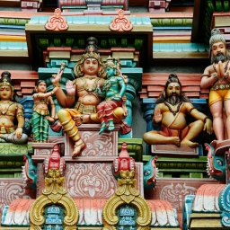 India-Madurai-hoogtepunt-Ganesha tempel