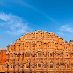 India-Rajasthan-Jaipur Paleis der Winden