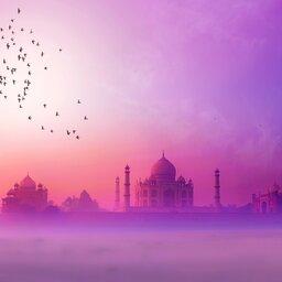 India-Taj Mahal 2