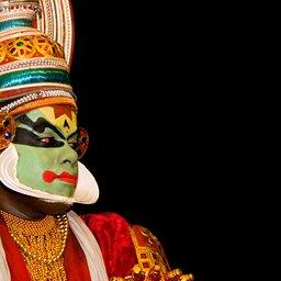 India-Zuid-kathakali-dans