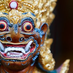 Indonesië-Bali-Balinees masker