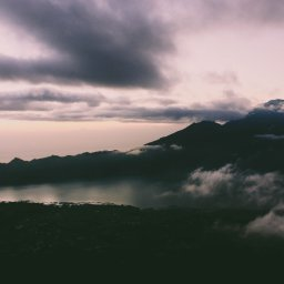 Indonesië-Bali-vulkaan