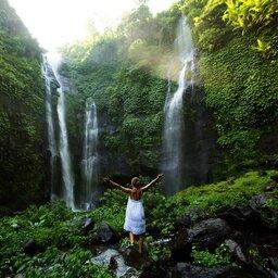 Indonesië-Bali-waterval2