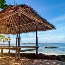 Indonesië-Gili-eilanden-strand-hutje